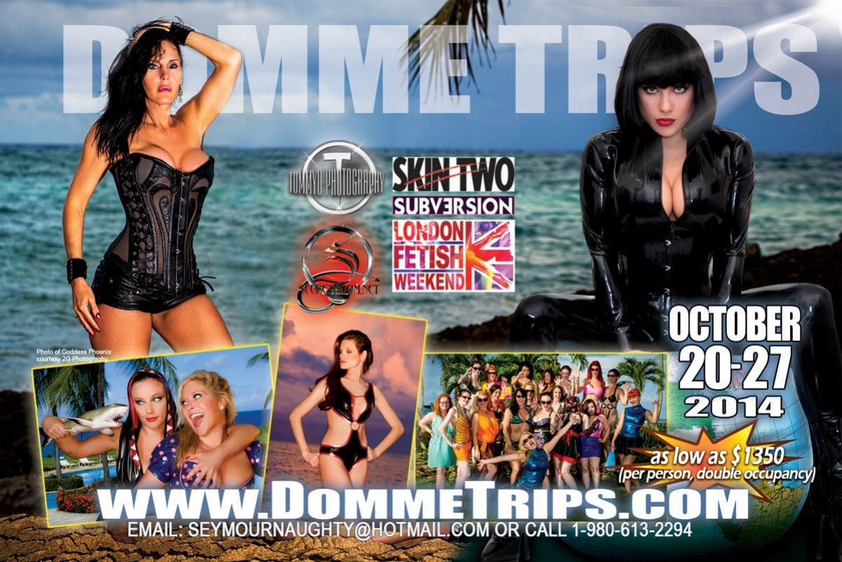 This will be My 4th trip to the famous Domme Trips- Dominican Domination. This fabulous event is held at Caliente Caribe-a clothing optional, all inclusive resort about an hour from the Puerta Plata airport. This is the ultimate naughty kink getaway.  There is no better place to relax and play […]